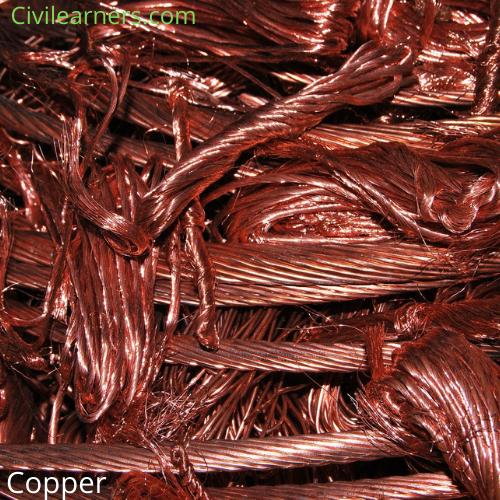 Types Of Non-ferrous metals