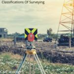 classifications of surveying