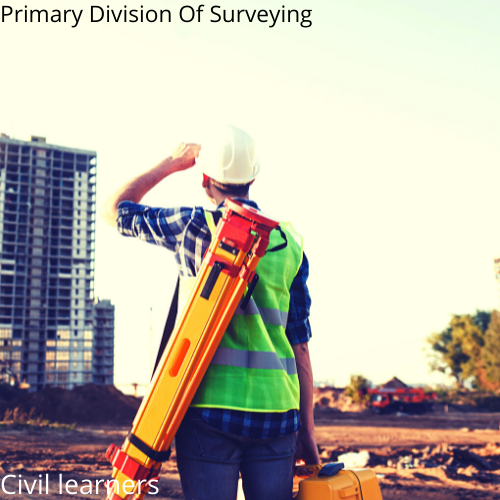 Primary Division Of Surveying